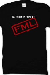 NEW FML logo shirt