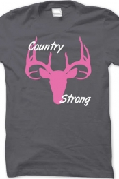 Women Country Strong Basic Tee Shirt