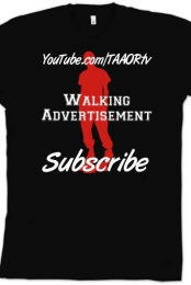 Walking Advertisement - Mens
