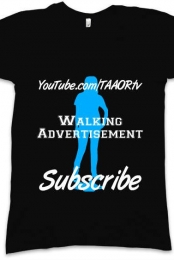 Walking Advertisement - Ladies