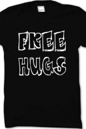 Free Hugs Shirt (black)