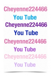Cheyenne224466 You Tube Poster