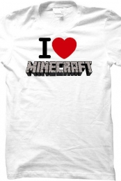 I Heart Minecraft Shirt