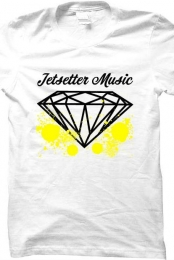 Jetsetter Music T Shirt Splatter