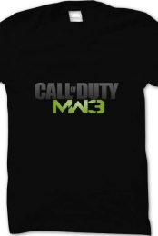 Call of Duty Modern Warfare 3 Shirt (Black)