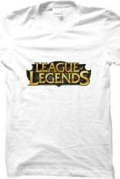 League of Legends Shirt (White)