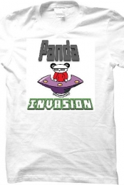 Panda_Invasion Fan Tee