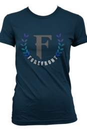 Forefront Leaf (Navy) (Girls)