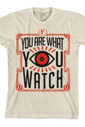 You Are What You Watch (Cream) (Unisex)