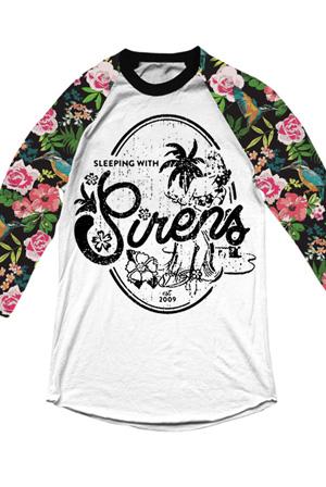 Vintage hawaii t shirt sleeping with sirens t shirts for Hawaiian design t shirts