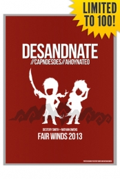 Autographed Fair Winds 2013 (Red) Poster