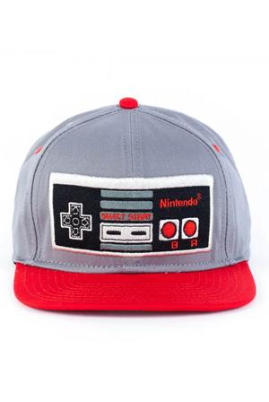 81a99666ad3a5 Nintendo Controller Gray Snapback Cap Accessory - Nintendo ...