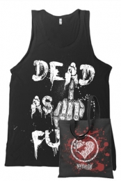 Dead As Fuck Tank Top + Heartgear Tote