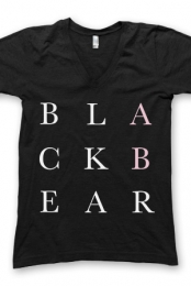 Black Bear Guys V-Neck (Black)