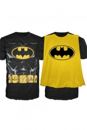 Batman Men's Cape T-Shirt