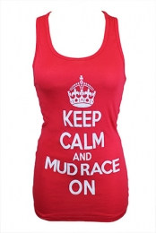 Keep Calm Tank (Red)