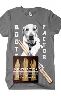 "Asphalt T-Shirt, Sticks, and ""Part or Execution"" CD Bundle"