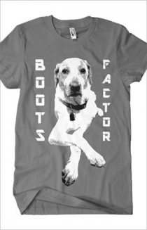 Boots Factor Dog (Asphalt)