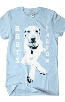 Boots Factor Dog (Light Blue)