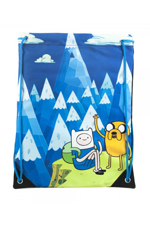 Adventure Time Mountain Cinch Bag