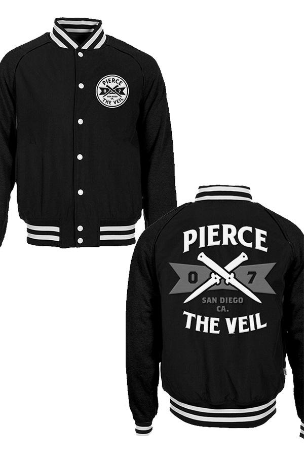 Pierce The Veil | Merch Store - Switchblades Varsity Jacket