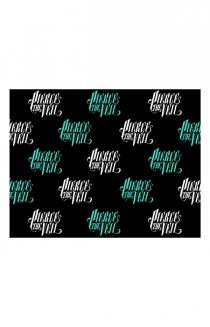 Holiday Wrapping Paper (Black)