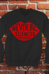 Never Be Silenced Pullover