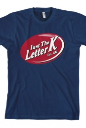 Just the Letter K Logo (Navy)
