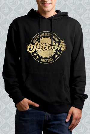 Gold Foil Questionable Quality Humor Pullover