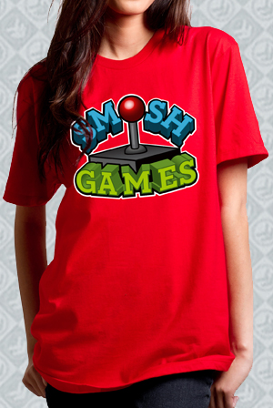 Smosh Games Red Tee