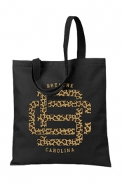 Cheetah Monogram Tote Bag