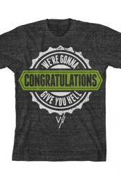 Congratulations Tee (Heather Grey)