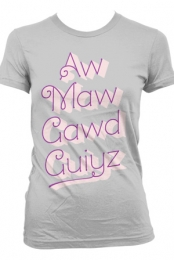 AwMawGawdGuiyz Girls Tee (Heather Grey)