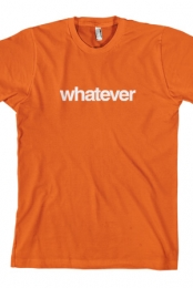whatever tee (Orange)