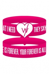 Love Is Forever Wristband