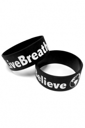 Live Breathe Believe Wristband