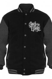Logo Fleece Varsity Jacket