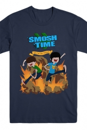 Smosh Time Tee (Navy)