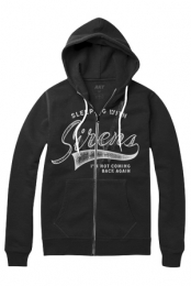 Not Coming Back Zip Hoodie
