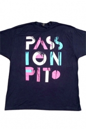 PASS ION PIT Tee (Navy)