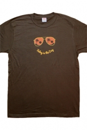 Today Is The Day Men's Tee (Brown)