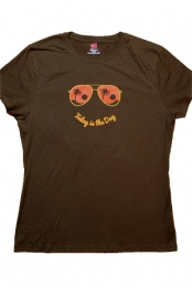Today Is The Day Women's Tee (Brown)