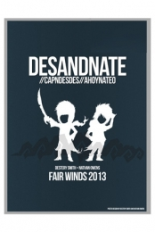Fair Winds 2013 (Blue) Poster
