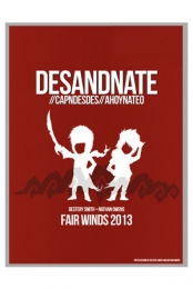 Fair Winds 2013 (Red) Poster