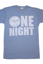 One Night Tee (Heather Blue)