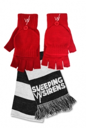 SWS Scarf + Red Gloves Bundle