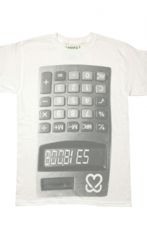 Do The Math Tee - White