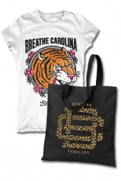 Tiger Girls Tee + Tote Bag