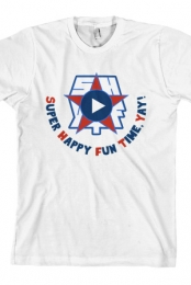 SHFTY Logo T-shirt (White)