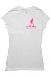 Silhouette Girls Tee (White)